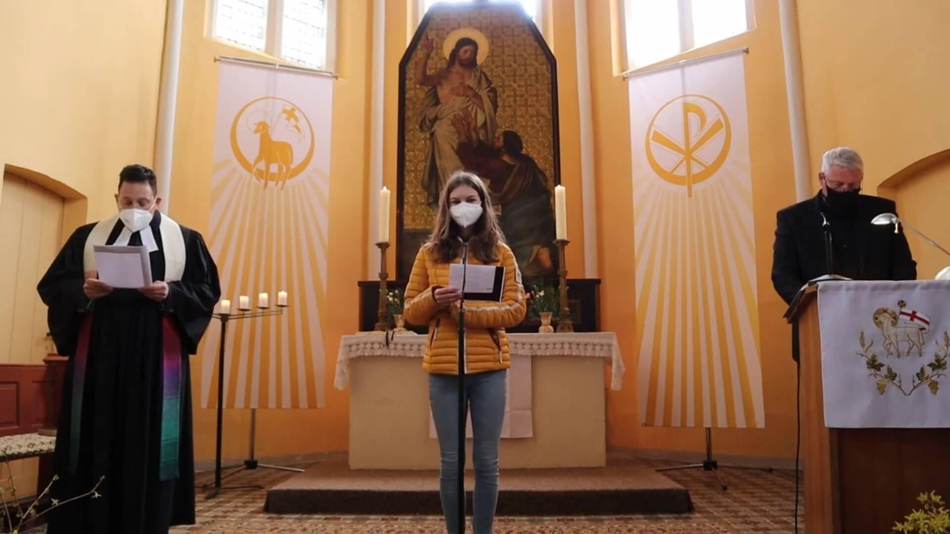 Kirche Penkun Ostersonntag 2021 (1)