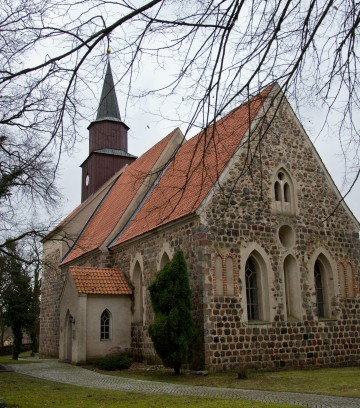 Kirche Wollin